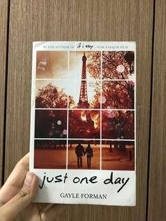 [Inc postage] Just One Day