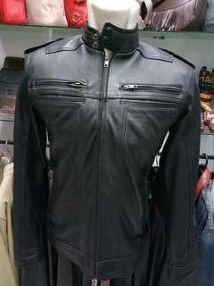Jaket kulit Casual bikers LSBN.020
