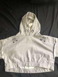 Factorie Embroidered Crop Hood