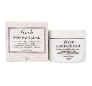 Fresh Rose Face Mask 100ml