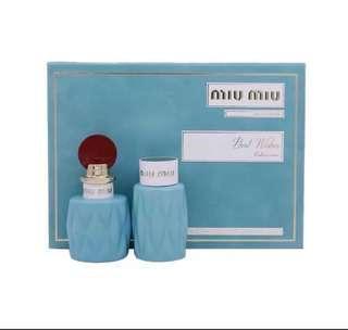 Miu Miu 女士聖誕香水套裝 香水50ml + 身體乳100ml