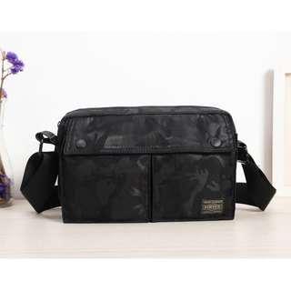 🚚 💥CHEAPEST - Porter Velcro Flap Bag (Black Camo) #CAROUWEEN40