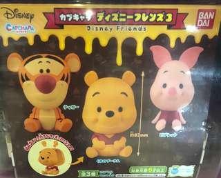 迪士尼拼裝Pooh Q版扭蛋(小豬&跳跳虎)