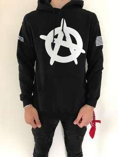 MENS ASAP JUMPER BLACK SIZE MEDIUM AND LARGE