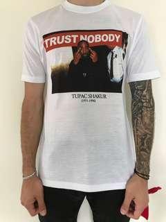 TRUST NOBODY TUPAC BIGGIE TSHIRT
