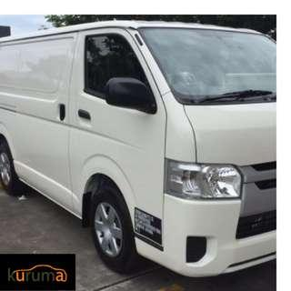 HIACE FOR RENT! $1350 MONTHLY