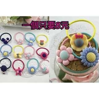🚚 (現貨)韓系兒童磨砂髮  多種款式,款式隨機發貨
