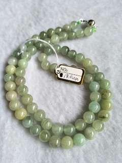 Jadeite necklaces