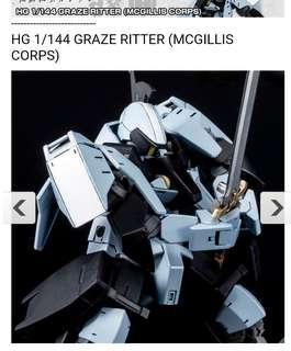HG 1/144 Graze Ritter Mcgillis Corps