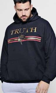 TRUTH JUMPER MENS SIZE M BRAND NEW HOODIE