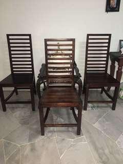 All 3 - Fella design dining chair