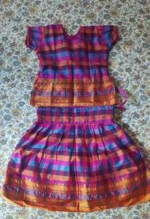 Indian costume ethinic for baby girl