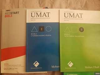 UMAT Books + FREE MED START BIBLE