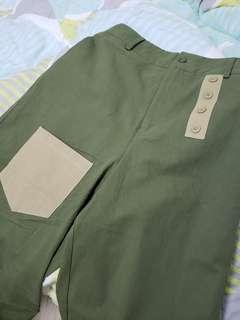【最新限量】Mamamamarket 三媽福袋-軍綠鬆身褲