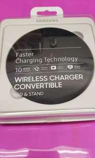 Samsung wireless charging pad charger convertible