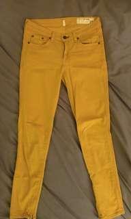 Rag & Bone Zipper Capri Size 27