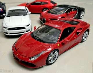 Bburago Race & Play Ferrari 488 GTB RED 1:18