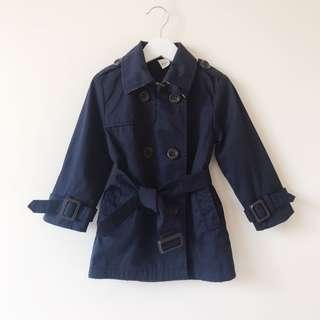 *as NEW* Girls Boys Trench Coat Size 3-4