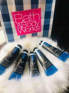 Bath and Body Works 4 PCS Aromatherapy LAVENDER & CEDARWOOD Hand Cream