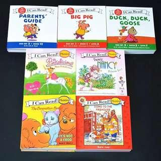 I Can Read 7 sets (84 books)