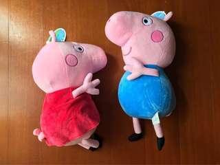 🚚 佩佩豬和喬治豬(12吋)