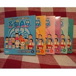 Doraemon多啦A夢卡通VCD ,一套6隻