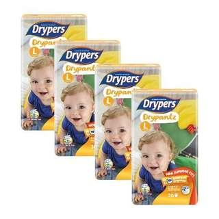 Drypers Drypantz L size