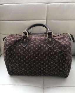 Authentic Louis Vuitton Mini Lin Speedy 30