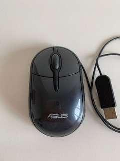 Logitech wired mouse (small size)