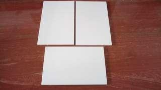 3 pieces new plywood planks