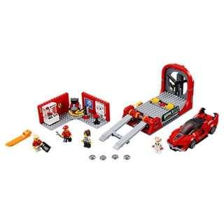 LEGO 75882 Speed Champions Ferrari FXX K & Development Center (100% Complete)