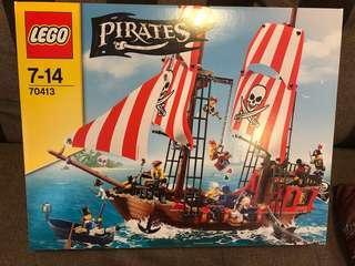 New 70413 Lego brick bounty Pirates of Caribbean ship 海盜船 4184 4195