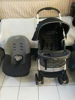 Graco Baby Stroller and Neosis Car Seat