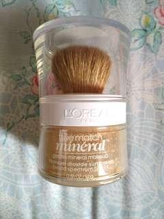 Loreal foundation true match mineral #yukjualan