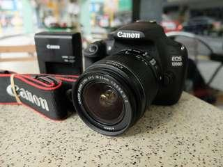 Canon EOS 1200D | 18mp | HD video | 2K shuttercount only