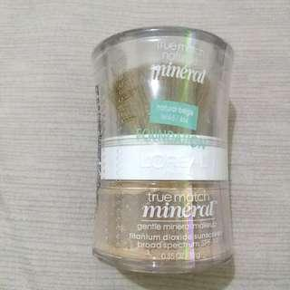 Loreal true match mineral foundation #yukjualan