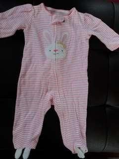 Carter's Bunny Frogsuit (3-6mnths)