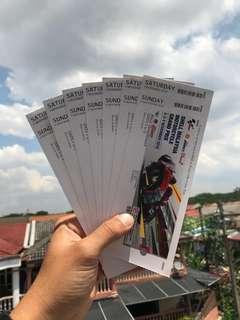 Shell Malaysia Motorcycle Grand Prix 2018 - Main Grandstand