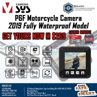 [LATEST] P6F Fully Waterproof Motorcycle Camera