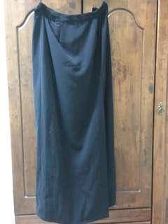 Long Dark Blue Skirt #Jan50