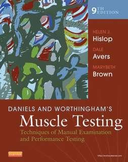 Hislop - Daniels and Worthingham - Muscle Testing, 9th Edition, 2014