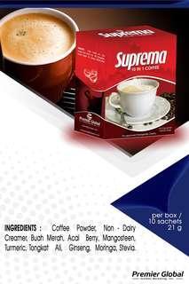 SUPREMA GOLD 15 IN 1 COFFEE