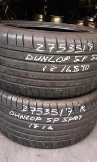 275 35 19 Dunlop