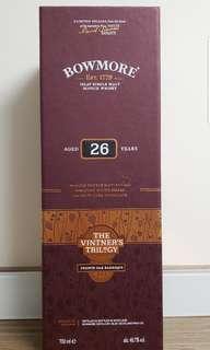 Bowmore 26yo, The Vintner's Trilogy Vol. 2 - French Oak Barrique Islay Whisky 蘇格蘭 Scotch