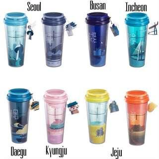 Starbucks Tumblers Korea Series