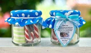 200ml Candies in a Jar Give - Aways