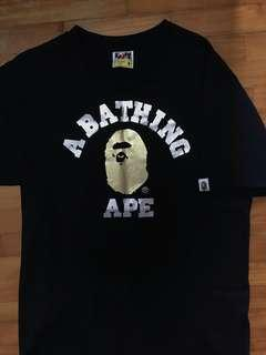 🚚 A Bathing Ape College tee