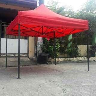 Retractable tent
