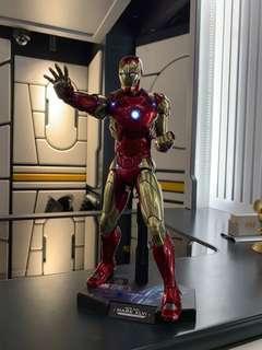 Hottoys Iron man 46 全新啡盒未開,即日現貨交收,只此一盒