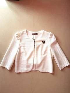 New Korean Style White Jacket